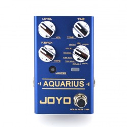 JOYO Aquarius Multi Delay & Looper Guitar Effect Pedal