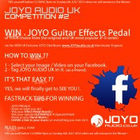 COMPETITION #2 - WIN A JOYO GUITAR EFFECT PEDAL