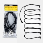 cm-26 8 way cable - CM-26 8 way Daisy Chain right angle jack cable for Guitar Effect Power Supply - Power Supplies by JOYO