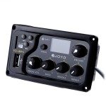 EQ-MP3 - JOYO EQ - MP3 LCD Digital 3 Band EQ USB Pickup Preamp with Tuner - EQ & Preamps by JOYO