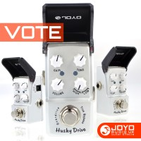 Total Guitar 2015 reader poll - Pedal of the Year JOYO Husky Drive. Please Vote !