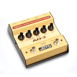 AD-2 Acoustic Guitar preamp and DI Box
