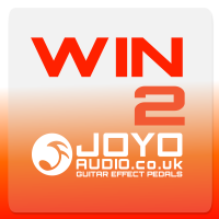 WIN TWO JOYO guitar effect pedals!