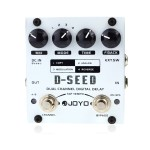 D-seed - JOYO D-SEED Dual Channel Digital Delay Guitar Effect Pedal - Bass Pedals by www.JOYOaudio.co.uk