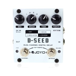 JOYO D-SEED Dual Channel Digital Delay Guitar Effect Pedal