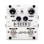 D Seed 2 II - JOYO D-Seed II Stereo Delay Guitar Effect Pedal - 8 Modes Tap Tempo Memory - Revolution Series - Guitar Effect Pedals by JOYO