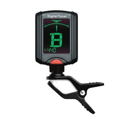 JOYO JT-07 Chromatic Mini Clip on Guitar Tuner with Backlight