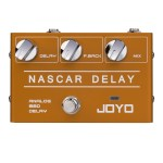 R-10 Nascar Delay - JOYO Nascar Delay Analog BBD Guitar Effect Pedal - Revolution Series - Guitar Effect Pedals by JOYO