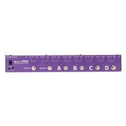 JOYO PXL-8 Loop Guitar Effects Pedal Loop Controller Purple