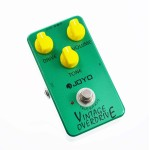 JF-01 - JOYO JF-01 Vintage Overdrive Guitar Effect Pedal - JOYO Guitar Effect Pedals by www.JOYOaudio.co.uk