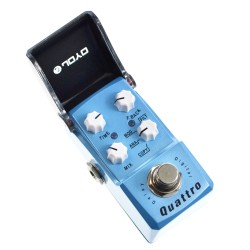 JOYO JF-318 Quattro Delay 4 Mode Guitar Effects Pedal - Digital Analog Modulation Filter Ironman