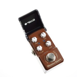 JOYO JF-323 Wooden Sound Acoustic Simulator Ironman Mini Guitar Effects Pedal