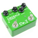 Dr.J D60 - Dr.J D-60 Green Emerald Overdrive Mosfet Diode Guitar Effect Pedal - JOYO Guitar Effect Pedals by www.JOYOaudio.co.uk