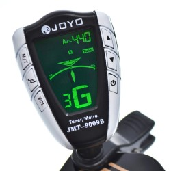 JOYO JMT-9009B Backlit Metro-Tuner for Guitar, Bass, Violin and Ukulele