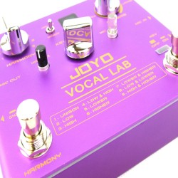 JOYO Vocal Lab - Harmoniser Effect Pedal