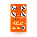 R-04 Zip Amp Overdrive - JOYO Zip Amp Overdrive Compression Guitar Effect Pedal - Revolution R Series - Sustain by JOYO