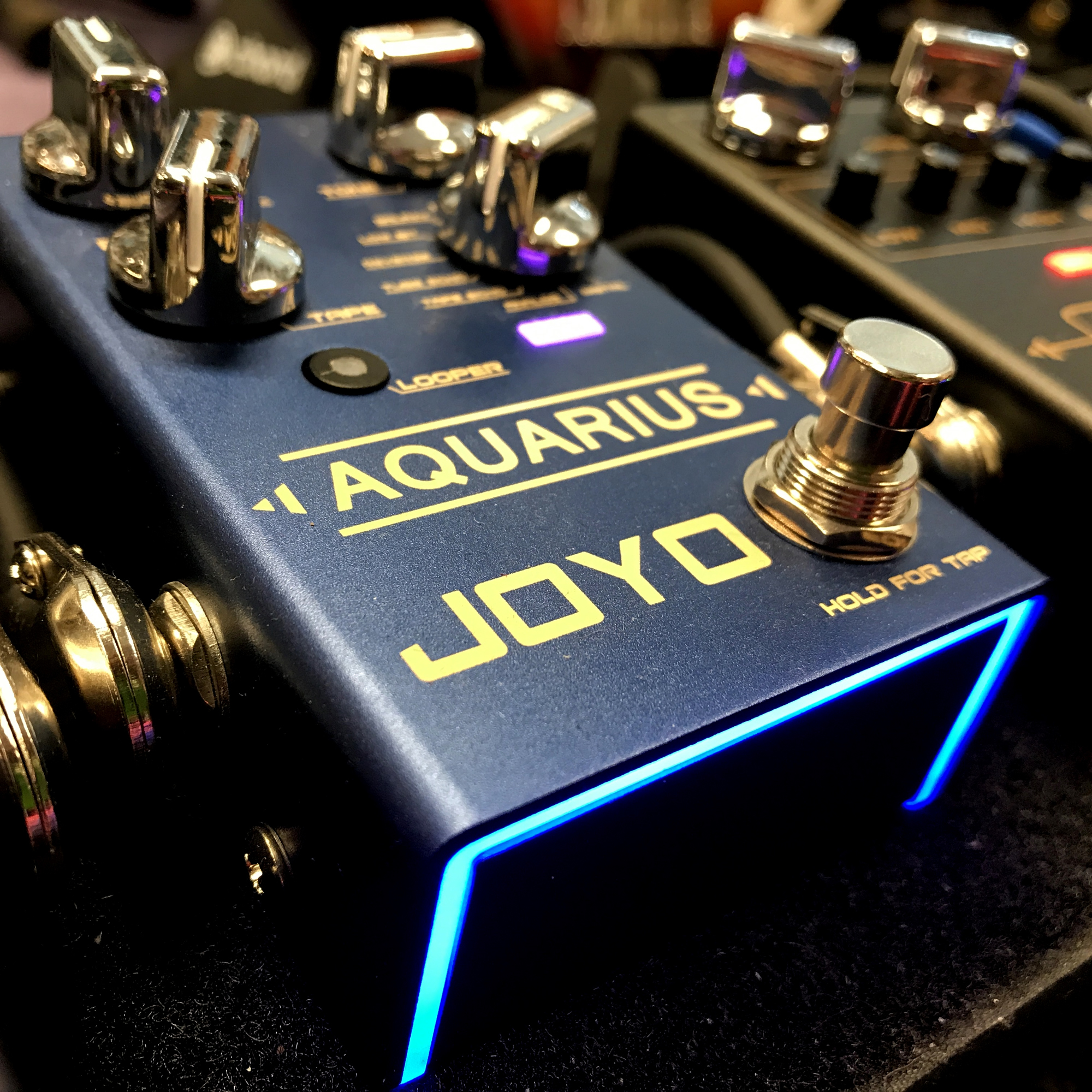 JOYO Aquarius Multi Delay Pedal