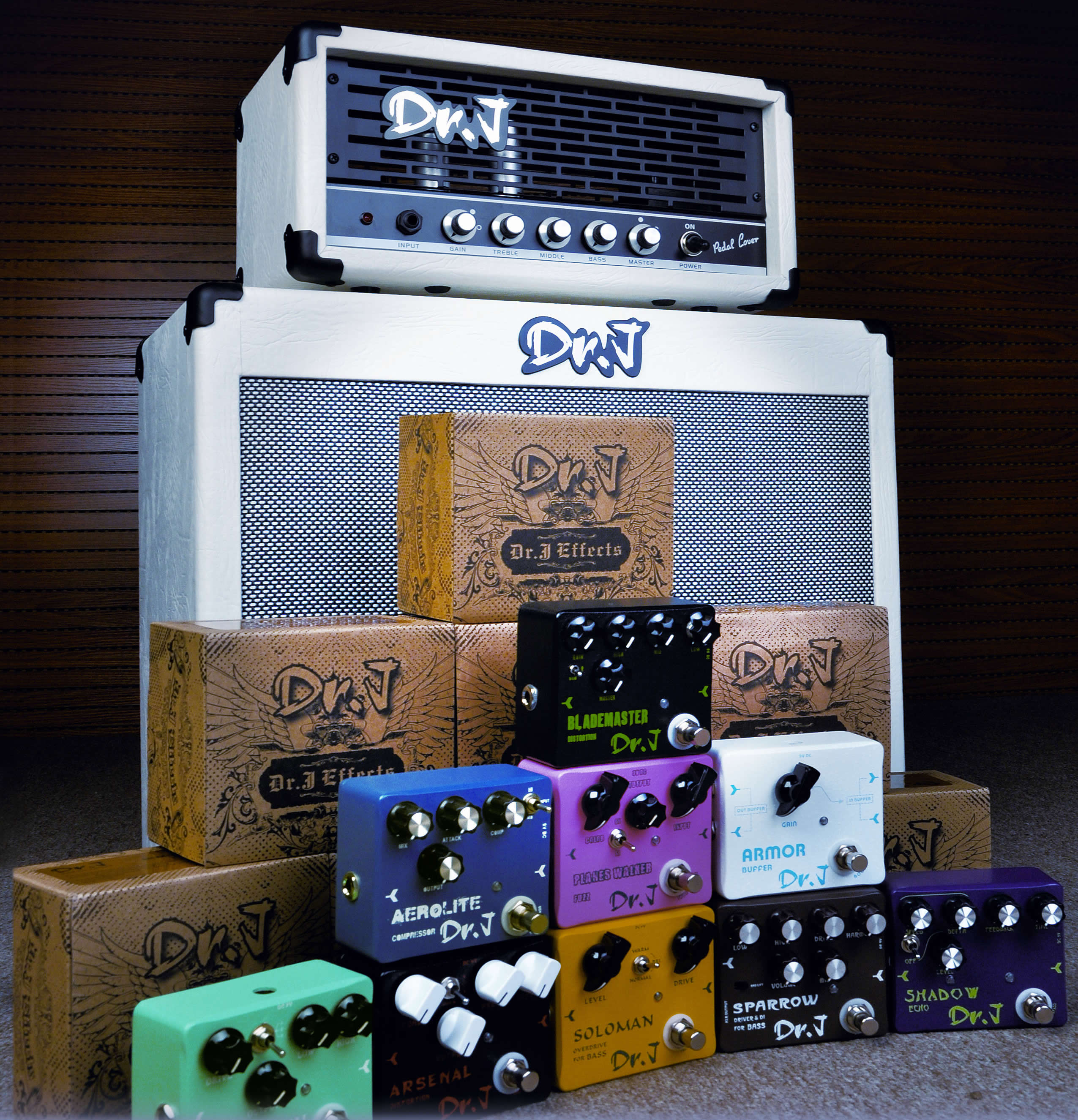 DR.J GUITAR EFFECTS - Available for UK Distribution