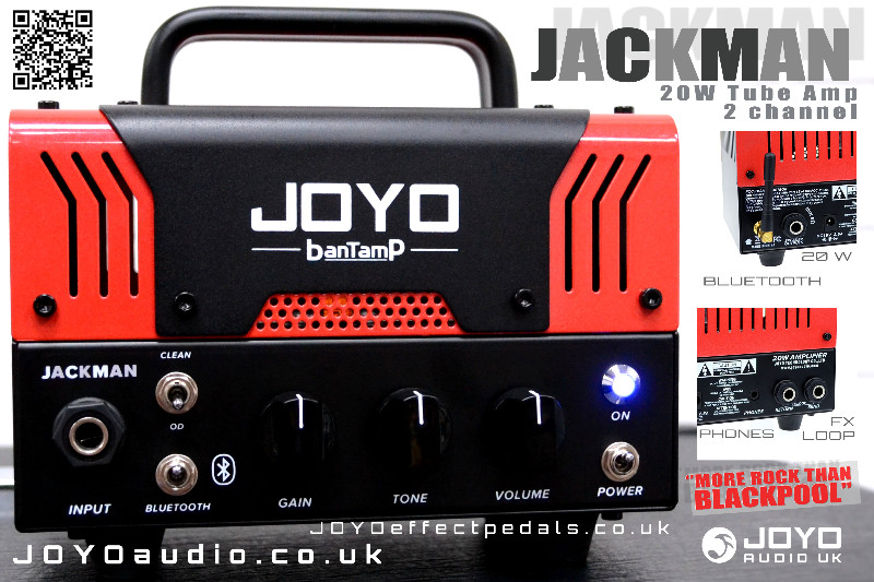 JOYO Jackman Mini Head Amp 20W