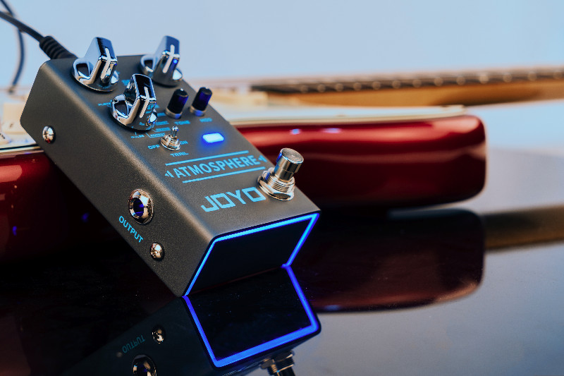 put your reverb pedal in your guitar fx loop