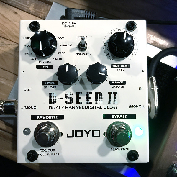 put your delay pedal in your effects loop