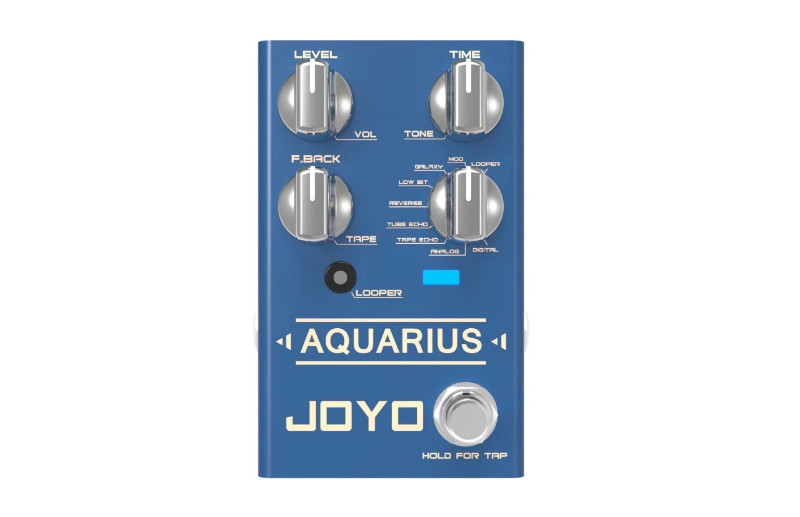 JOYO Aquarius looper multi delay pedal