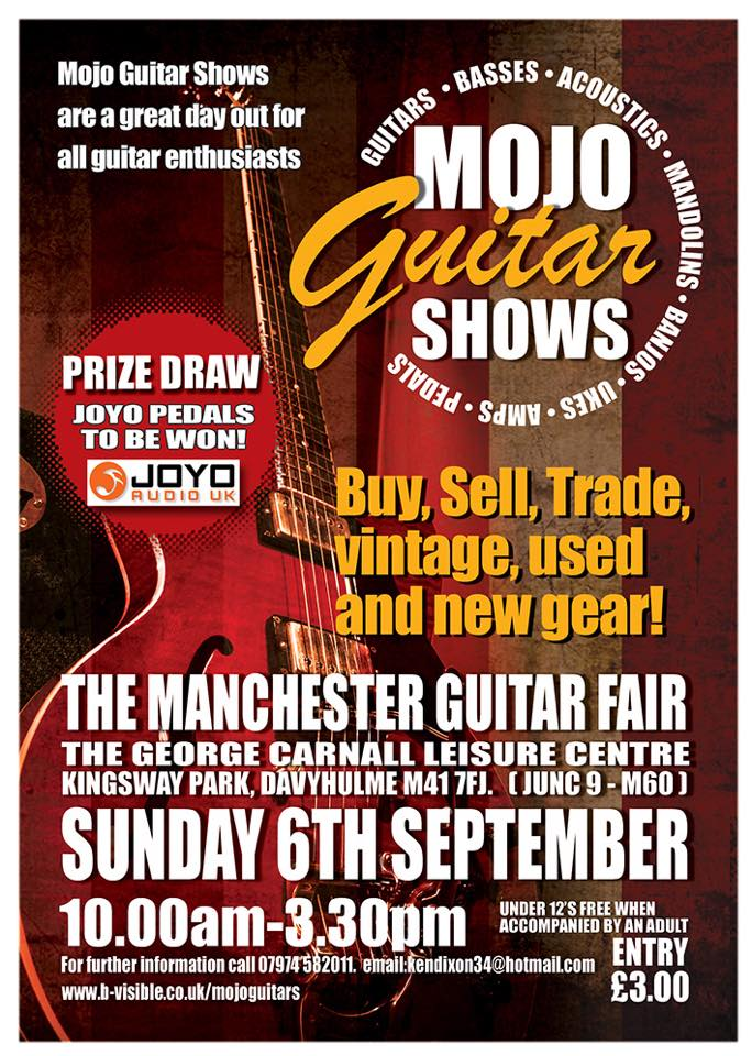 JOYO Guitar Effects - MOJO Guitar Show Manchester